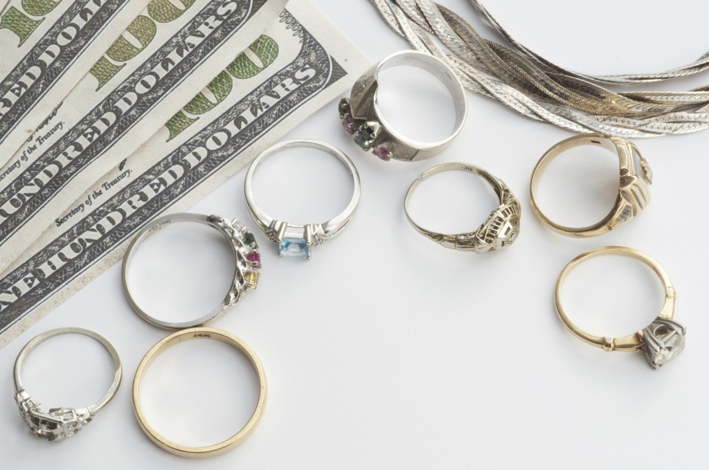 rings and money