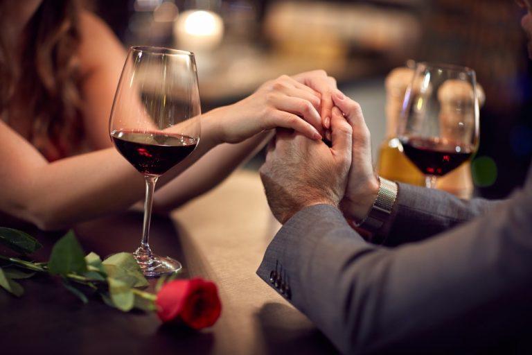 a wine date
