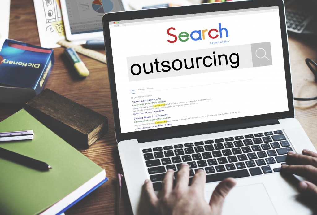 Web search outsourcing